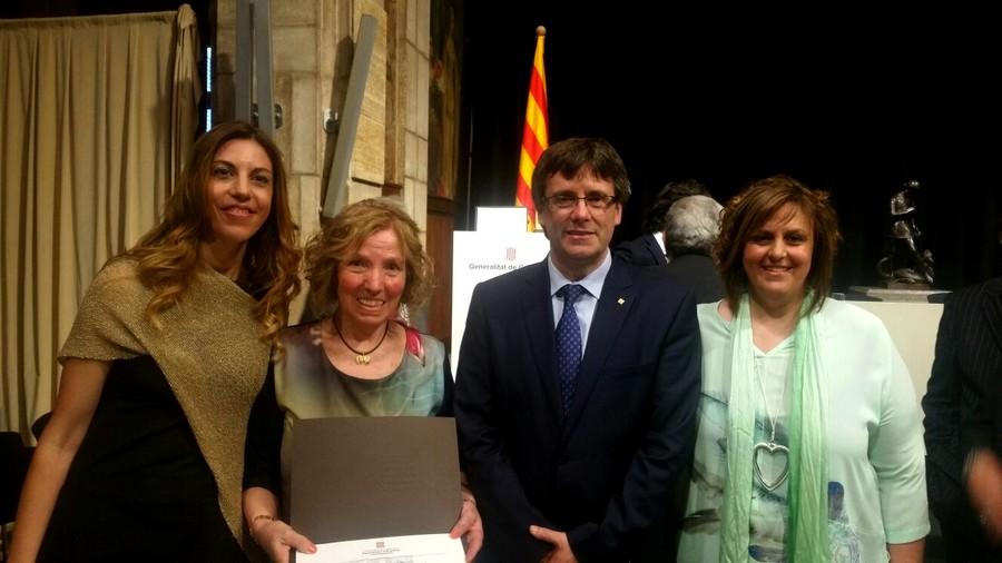 Margarita amb President Puigdemont