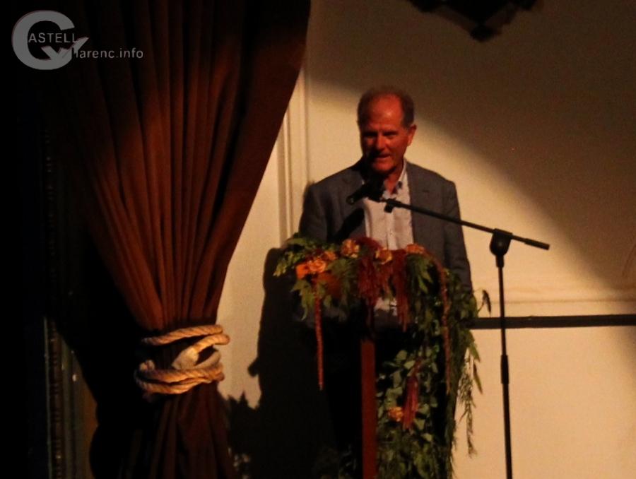 Delegat de Cultura a la catalunya central Lluis Cerarols